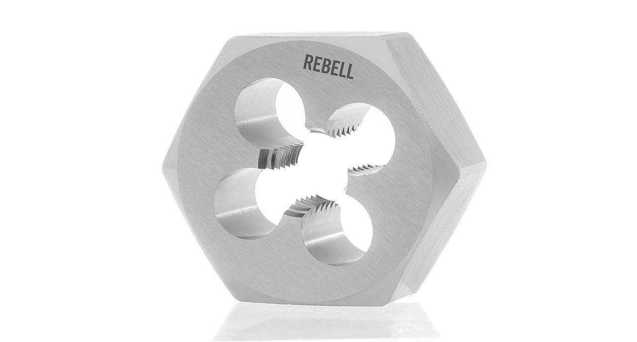 Hexagonal die nuts