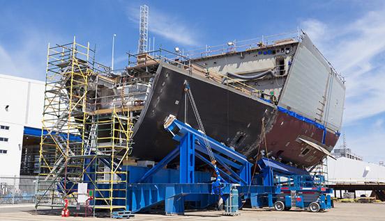 Gewinde schneiden in der Schiffahrtsindustrie